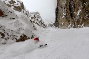 Wolfi-Skifahren!